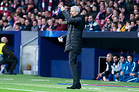 Borussia Dortmund coach Lucien Favre during group stage of UEFA Champions League match between Atletico de Madrid and Borussia Dortmund at Wanda Metropolitano in Madrid, Spain.November 06, 2018. (ALTERPHOTOS/Borja B.Hojas)<br /> Champions League 2018/2019<br /> Atletico Madrid - Borussia Dortmund<br /> Foto Alterphotos / Insidefoto