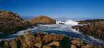 Waves breaking on the Canal Rocks. Western Australia. Australia.