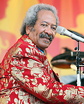 "May 7, 2011 New Orleans, La.: Singer / Musician Allen Toussaint performs ""2011 New Orleans Jazz & Heritage Festival"" on May 7, 2011 in New Orleans, La."