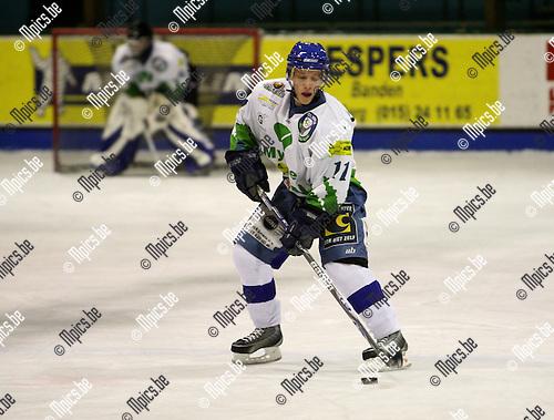 2007-11-23 / ijshockey / Heist-op-den-Berg - Turnhout / Kenny Laporte (Heist)..Foto: Maarten Straetemans