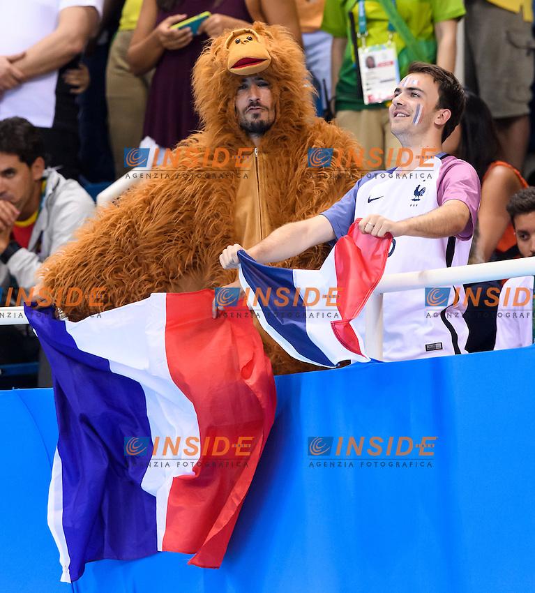 French supporters <br /> Rio de Janeiro 07-08-2016 Olympic Aquatics Stadium <br /> Swimming Nuoto <br /> Foto Andrea Staccioli/Deepbluemedia/Insidefoto