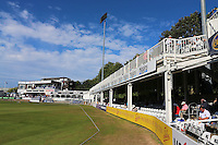 General view of the Tom Pearce stand and pavilion during Essex CCC vs Glamorgan CCC, Specsavers County Championship Division 2 Cricket at the Essex County Ground on 12th September 2016