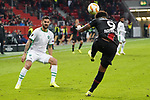 29.11.2018, BayArena, Leverkusen, Europaleque, Vorrunde, GER, UEFA EL, Bayer 04 Leverkusen (GER) vs. Ludogorez Rasgrad (BUL),<br />  <br /> DFL regulations prohibit any use of photographs as image sequences and/or quasi-video<br /> <br /> im Bild / picture shows: <br /> Kopfball durch Leon Bailey (Leverkusen #9), <br /> <br /> Foto &copy; nordphoto / Meuter<br /> <br /> <br /> <br /> Foto &copy; nordphoto / Meuter
