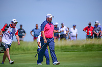 Shane Lowry (IRL) approaches the 11th green during Thursday's round 1 of the 117th U.S. Open, at Erin Hills, Erin, Wisconsin. 6/15/2017.<br /> Picture: Golffile | Ken Murray<br /> <br /> <br /> All photo usage must carry mandatory copyright credit (&copy; Golffile | Ken Murray)