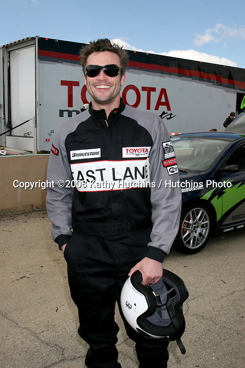 Daniel Goddard.Toyota Pro/Celebrity Race: Lancaster Training.The Willows.Lancaster, CA.March 15, 2008.©2008 Kathy Hutchins / Hutchins Photo
