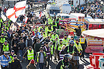 © Joel Goodman - 07973 332324 . 22/10/2016 . Margate , UK . A White Lives Matter protest and march , opposed by antifascists , is held in Margate , Kent . Photo credit : Joel Goodman
