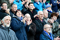 Blackburn Rovers fans look on<br /> <br /> Photographer Richard Martin-Roberts/CameraSport<br /> <br /> The EFL Sky Bet Championship - Blackburn Rovers v West Bromwich Albion - Tuesday 1st January 2019 - Ewood Park - Blackburn<br /> <br /> World Copyright &not;&copy; 2019 CameraSport. All rights reserved. 43 Linden Ave. Countesthorpe. Leicester. England. LE8 5PG - Tel: +44 (0) 116 277 4147 - admin@camerasport.com - www.camerasport.com