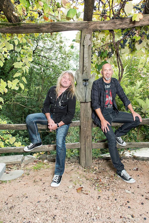 Gotthard, Hard rock band, Leo Leoni, Freddy Scherer, Grotthard, Oggio, 2014.09.04