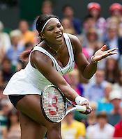 21-06-11, Tennis, England, Wimbledon,   Serena Williams