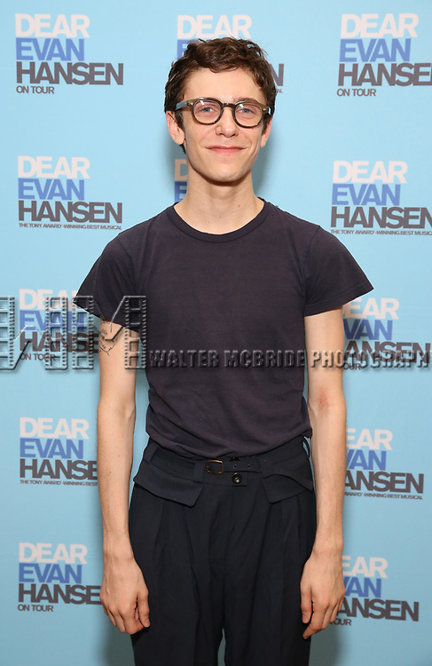 Ben Levi Ross attends the National Tour Photo Call for 'Dear Evan Hansen' on September 6, 2018 at the New 42nd Street Studios in New York City.