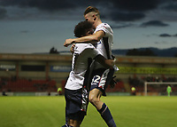Bolton Wanderers' Derik Osede celebrates scoring his sides second goal <br /> <br /> Photographer Rachel Holborn/CameraSport<br /> <br /> The Carabao Cup - Crewe Alexandra v Bolton Wanderers - Wednesday 9th August 2017 - Alexandra Stadium - Crewe<br />  <br /> World Copyright &copy; 2017 CameraSport. All rights reserved. 43 Linden Ave. Countesthorpe. Leicester. England. LE8 5PG - Tel: +44 (0) 116 277 4147 - admin@camerasport.com - www.camerasport.com