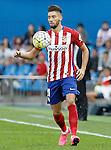 Atletico de Madrid's Yannick Ferreira Carrasco during La Liga match.September 22,2015. (ALTERPHOTOS/Acero)