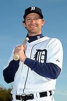 Feb 21, 2009; Lakeland, FL, USA; The Detroit Tigers infielder Adam Everett (4) during photoday at Tigertown. Mandatory Credit: Tomasso De Rosa/ Four Seam Images