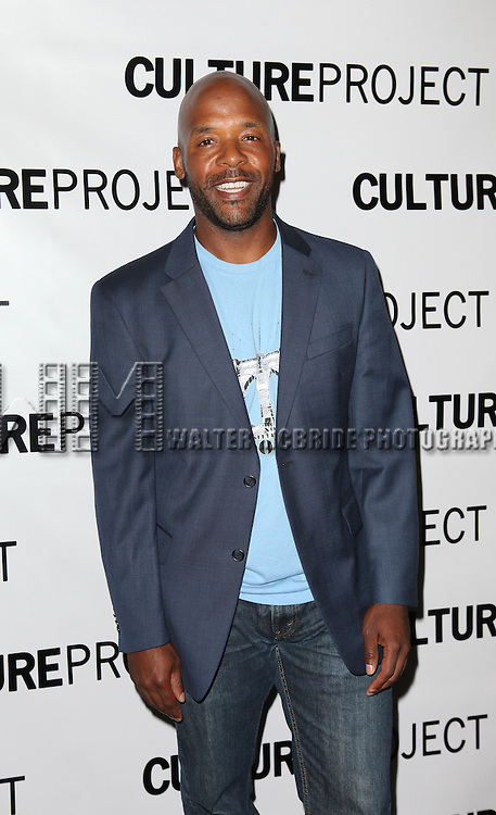 Curtis McClarin attending the after Party for 10th Anniversary Production of 'The Exonerated' at the Culture Project in New York City on 9/19/2012.