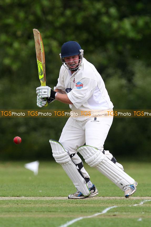 Paul Murray in batting action for Hornchurch - Hornchurch CC vs Gidea Park & Romford CC - Essex Cricket League at Harrow Lodge - 24/05/14 - MANDATORY CREDIT: Gavin Ellis/TGSPHOTO - Self billing applies where appropriate - 0845 094 6026 - contact@tgsphoto.co.uk - NO UNPAID USE