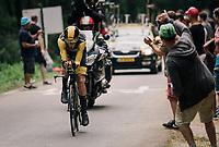 Robert Gesink (NED/LottoNL-Jumbo)<br /> <br /> Stage 20 (ITT): Saint-Pée-sur-Nivelle >  Espelette (31km)<br /> <br /> 105th Tour de France 2018<br /> ©kramon