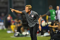 Washington D.C. - Friday, September 4, 2015: The USMNT go down 0-1 to Peru at half time in an international friendly game at RFK stadium.
