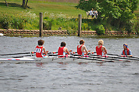 Thames Ditton Regatta..Wallingford Rowing Club vs Windsor Boys (79):.J14 B Boys 4X+