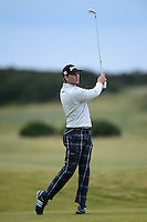 Chris Stroud of USA in action during the Final Round of the 2015 Alfred Dunhill Links Championship at the Old Course, St Andrews, in Fife, Scotland on 4/10/15.<br /> Picture: Richard Martin-Roberts | Golffile