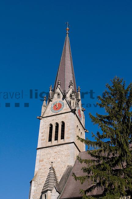 Kathedrale, Cathedral,  Vaduz, Fürstentum Liechtenstein, Principality of Liechtenstein