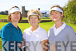 Fore! - Competing in Ballyheigue Castle Golf Club Lady Captain's Day on Saturday morning were l/r Elizabeth Lynch, Clogherbrien, Eileen Buckley, Ballyheigue and Sheila McCarthy from Manor, Tralee................................................................................................................................................................................................................................................ ............