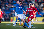 23.02.2020 St Johnstone v Rangers: Jason Kerr and Ryan Kent