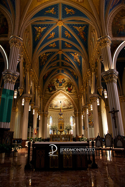 The Basilica of the Holy Mother at the University of Notre Dame