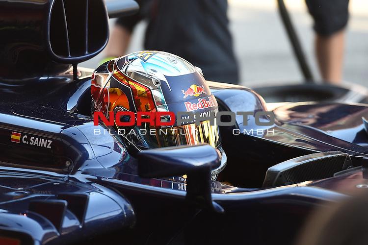 Formel 1 Testfahrten 2016 in Barcelona<br /> Carlos Sainz Jr. (SPA#55), Scuderia Toro Rosso<br /> <br /> <br /> Foto &copy; nordphoto /  Bratic