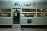 Abbey Cafe Official Opening...(Photo credit should read Jenny Matthews/NEWSFILE)...