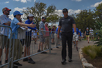 Jon Rahm (ESP) departs the 10th tee during day 2 of the World Golf Championships, Dell Match Play, Austin Country Club, Austin, Texas. 3/22/2018.<br /> Picture: Golffile | Ken Murray<br /> <br /> <br /> All photo usage must carry mandatory copyright credit (&copy; Golffile | Ken Murray)