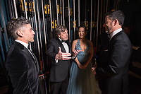 Oscar Isaac, Mark Hamill, Kelly Marie Tran and Jimmy Kimmel backstage during the live ABC Telecast of The 90th Oscars&reg; at the Dolby&reg; Theatre in Hollywood, CA on Sunday, March 4, 2018.<br /> *Editorial Use Only*<br /> CAP/PLF/AMPAS<br /> Supplied by Capital Pictures