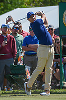 Rory McIlroy (NIR) watches his tee shot on 7 during round 1 of the Arnold Palmer Invitational at Bay Hill Golf Club, Bay Hill, Florida. 3/7/2019.<br /> Picture: Golffile | Ken Murray<br /> <br /> <br /> All photo usage must carry mandatory copyright credit (&copy; Golffile | Ken Murray)