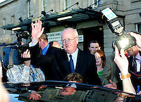 25/05/2007.Progressive Democrat Candidate michael McDowell.at the General Election Count  at the RDS, Dublin..Photo: Collins.