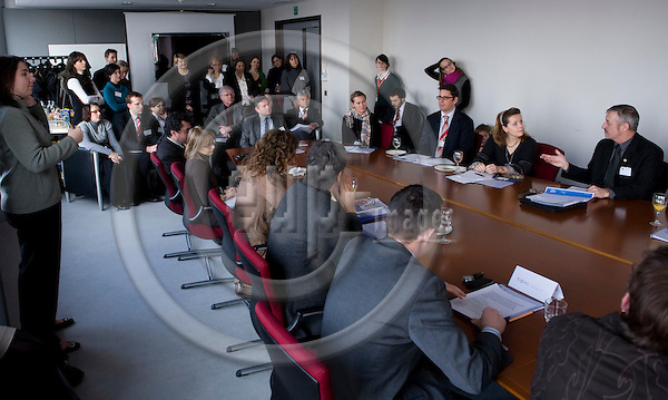 "Brussels-Belgium, January 26, 2010 -- ""Employment for Persons with Disabilities - Key for social inclusion and personal development"", a lunch meeting at the European Parliament organized by BAG:WfbM and EASPD (for more information esp. on names of captured persons, please refer to:  www.bagwfbm.de or www.easpd.eu) -- Photo: © Horst Wagner / eup-images"
