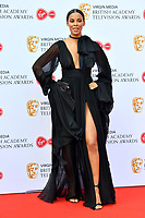 Rochelle Humes<br /> at Virgin Media British Academy Television Awards 2019 annual awards ceremony to celebrate the best of British TV, at Royal Festival Hall, London, England on May 12, 2019.<br /> CAP/JOR<br /> &copy;JOR/Capital Pictures