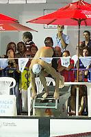 BELO HORIZONTE, MG, 22.03.2014 – I TORNEIO METROPOLITANO INFATIL A SÊNIOR - Atletas do Minas Tênis Clube durante o I Torneio Metropolitano Infatil a Senior, no Parque Aquatico Minas Tênis Clube, nesta noite de Sábado (22) (Foto: MARCOS FIALHO / BRAZIL PHOTO PRESS)