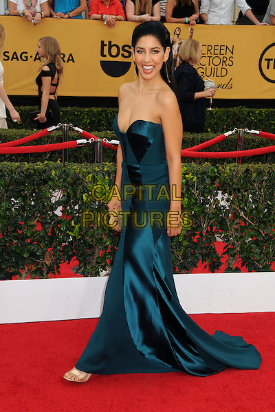 25 January 2015 - Los Angeles, California - Stephanie Beatriz. 21st Annual Screen Actors Guild Awards - Arrivals held at The Shrine Auditorium. <br /> CAP/ADM/BP<br /> &copy;BP/ADM/Capital Pictures