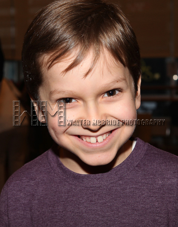 Zac Ballard attends the Meet & Greet for 'A Christmas Story, The Musical' at the New 42nd Street Studios on 10/22/2012 in New York City.