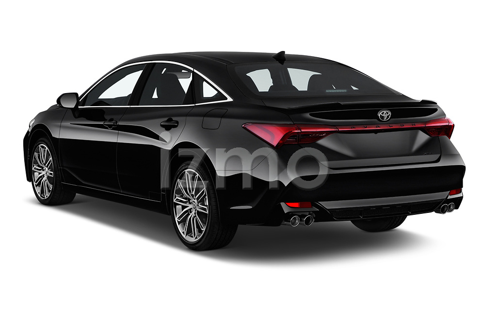 Car pictures of rear three quarter view of a 2020 Toyota Avalon XSE 4 Door Sedan angular rear