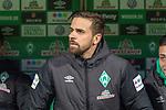 08.03.2019, Weser Stadion, Bremen, GER, 1.FBL, Werder Bremen vs FC Schalke 04, <br /> <br /> DFL REGULATIONS PROHIBIT ANY USE OF PHOTOGRAPHS AS IMAGE SEQUENCES AND/OR QUASI-VIDEO.<br /> <br />  im Bild<br /> <br />  auf der Ersatzbank Martin Harnik (Werder Bremen #09)<br /> <br /> Foto &copy; nordphoto / Kokenge