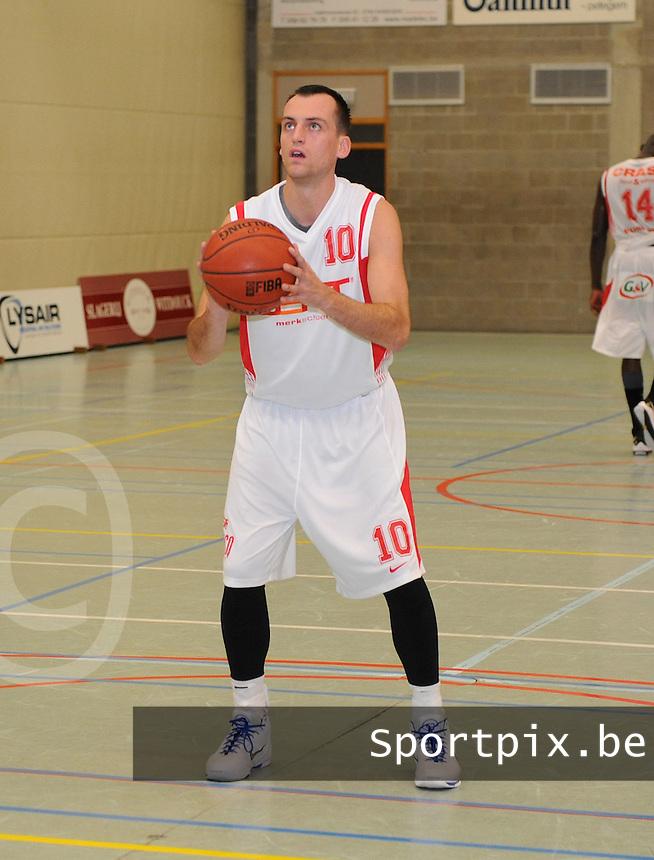 BS Waregem : Thomas Van De Vondel.foto VDB / BART VANDENBROUCKE