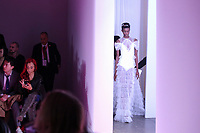 NEW YORK, NY - FEBRUARY 10: Models display creations of Lanyu during New York Fashion Week on February 10, 2019 in  New York.  (Photo by Kena Betancur/VIEWpress/Corbis via Getty Images) (Photo by Kena Betancur/VIEWpress)
