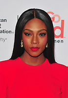 NEW YORK, NY - February 8: Afiya Bennett attends the Red Dress / Go Red For Women Fashion Show at Hammerstein Ballroom on February 8, 2018 in New York City Credit: John Palmer / Media Punch