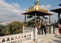 Türkei, Iftariye Baldachin im Topkapi Palast (Topkapi Saray) in Istanbul, erbaut 1641 von Ibrahim zur Einahme des Abendessen Iftar während des Ramadan (Ramazan) , UNESCO-Weltkulturerbe