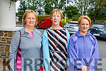 Sisters, Brid Ann Courtney (Inch), Maura Coleman (Killarney) and Geraldine Sheehan (Tralee) attending the Ita Barry Memorial MS Society Charity Walk at the Rose Hotel on Sunday