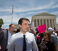 MAY 21 Abortion Ban Protest Outside of Supreme Court