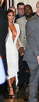 LAS VEGAS, NV, USA - OCTOBER 25: Kim Kardashian West, Kanye West arrive at Kim Kardashian West's 34th Birthday Celebration held at TAO Nightclub at The Venetian Las Vegas on October 25, 2014 in Las Vegas, Nevada, United States. (Photo by Xavier Collin/Celebrity Monitor)