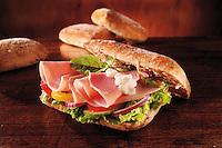 Han & Salad Baguette