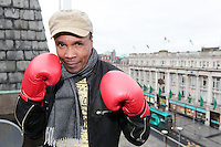 NO FEE PICTURES.16/3/12 Pictured today is Sugar Ray Leonard, one of the greatest fighters of the last fifty years will be in Eason, O Connell Street signing copies of his new autobiography ,  The Big Fight .  Leonard s book is unflinchingly honest which reveals the true story of an Olympic hero and world champion.  He tells of the gruelling workouts, the fierce competition, and the notorious corruption he encountered within the sport as he battled to become a champion.  Picture:Arthur Carron/Collins