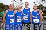 Martin Lemass, Billy Murray, Brian O'Flynn and David O'Mahony at the Red Cross 10k Run on Sunday